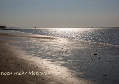 Meeresglitzern Wattenmeer