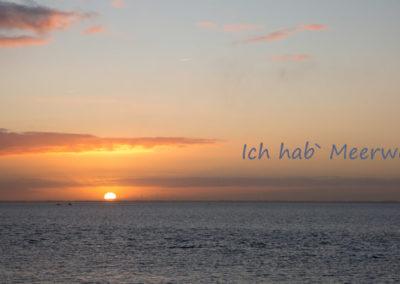 Sonnenaufgang Weltkulturerbe niedersächsisches Wattenmeer Wilhelmshaven